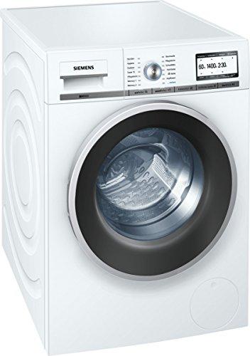 Siemens iQ800 WM14Y74D iSensoric Premium-Waschmaschine/A+++ / 1400 UpM / 8 kg/Weiß / VarioPerfect / Super15 / Antiflecken-System