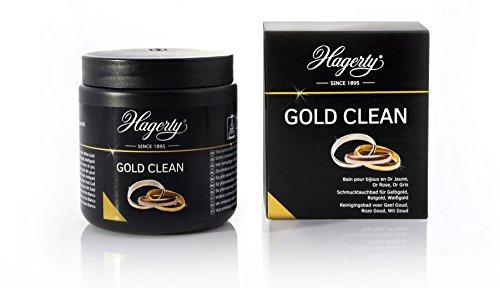 Hagerty Gold Clean - Schmucktauchbad für Gelbgold, Rotgold, Weißgold