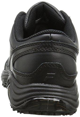 Fila di memoria Flux antiscivolo scarpe da lavoro Black/Black/Black