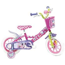 """Disney 13126 Minnie-Bicicleta 12"""", Multicolore,"""