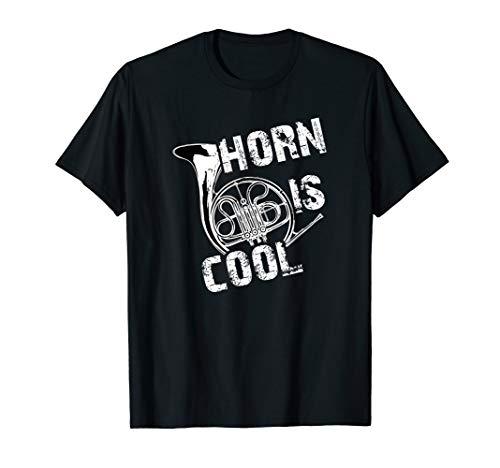 Horn is cool, Blechblasinstrument Jagdhorn T-Shirt