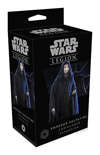 Fantasy Flight Games FFGSWL22 Star Wars Legion: Emperor Palpatine Unit Expansion, gemischte Farben (Star Wars Miniatures Jedi)