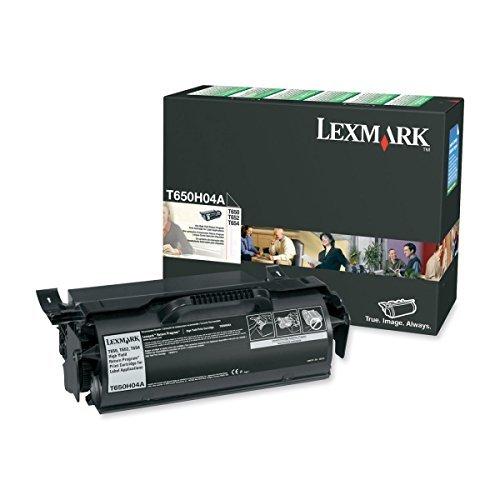 Lexmark T650H04A OEM Toner - T650 T652 T654 T656 Series High Yield Return Program Toner for Label Applications (25000 Yield) OEM by Lexmark -