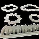 originaltree 5x Cartoon Gras Sun Cloud Kuchen Formen Cookies Fondant DIY Backen Werkzeug für Party Geburtstag