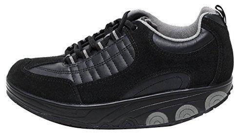 Dynamic24 AKTIV Damen Schuhe mit Spezial Rundsohle Gondelsohle Gr. 37-40 Freizeitschuhe Komfortschuhe Outdoor Walking Schuhe Sale Sommerschuhe (Mbt-walking-schuhe)