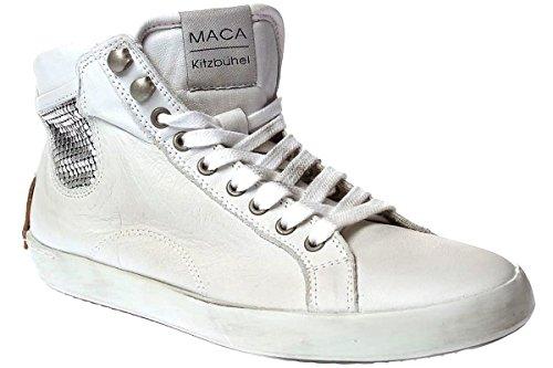 60e85193631d4b Maca Kitzbühel 2004 Damen Schuhe Sneaker Schnürer Weiß ...
