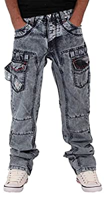Peviani Mens Boys True Fleet Star Ice Acid Wash Blue Denim Jeans Time G Money Is Religion Hip Hop