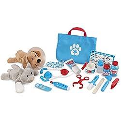 Melissa & Doug Tierarzt-Spielset zum Untersuchen und Behandeln (24 Teile)