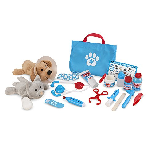 Melissa & Doug Examine and Treat Pet Vet Play Set...