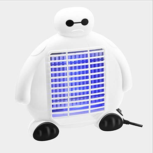 ZPeng Luces para Matar Mosquitos, Cazadores de Insectos, trampas para el Control de plagas, Luces UV para Insectos, trampas para Insectos, insecticidas electrónicos para Interiores y Exteriores