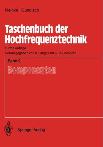 Taschenbuch der Hochfrequenztechnik: Band 2: Komponenten
