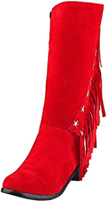 homme / femme femme femme de bottes pour dames avec fermeture fiable taoffen qualité bienvenue plus pratique fa8e1d