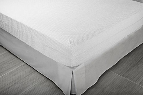 Pikolin Home Bouclé mattress cover, antiallergic, 90 x 190/200 cm, bed 90