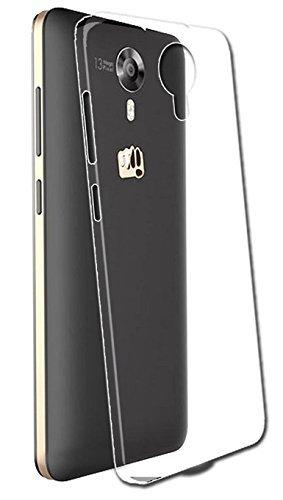 JM Transparent Soft Ultra Slim Back Cover Case Micromax Canvas Xpress 2 E 313/ Xpress2 E313