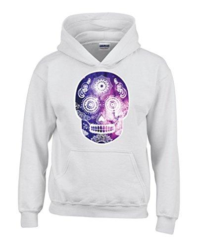 shop4ever  calavera Galaxy sudadera con capucha moda Sudaderas