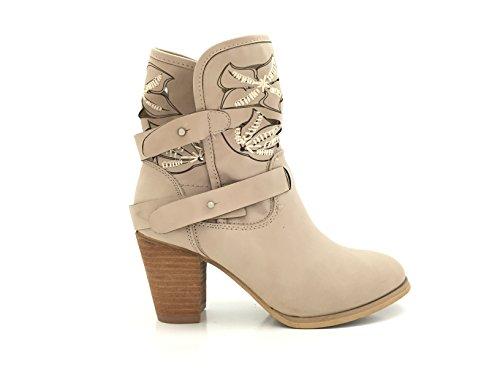 CHIC NANA , Damen Chelsea Boots , schwarz - schwarz - Größe: 37 EU
