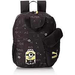 Puma Minions Backpack, Unisex niños, Black, OSFA
