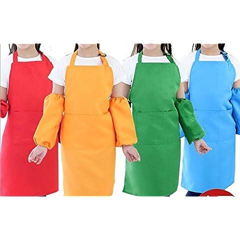 MaMaison007 personalizzato Grembiule bambini disegnano vestiti Galleria