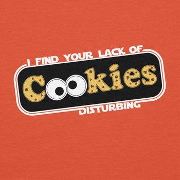 TEXLAB - Lack of Cookies - Herren T-Shirt Orange