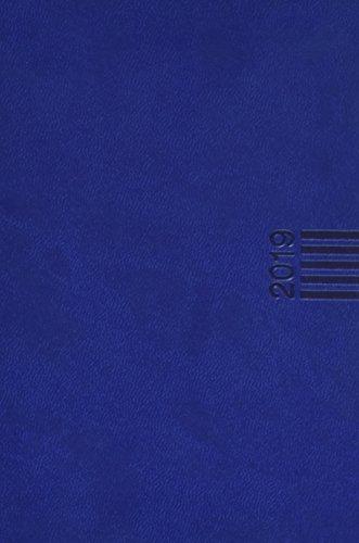 Wochen-Cheftimer A6, blau - Kalender 2019 (Blaue Handtasche Französisch)