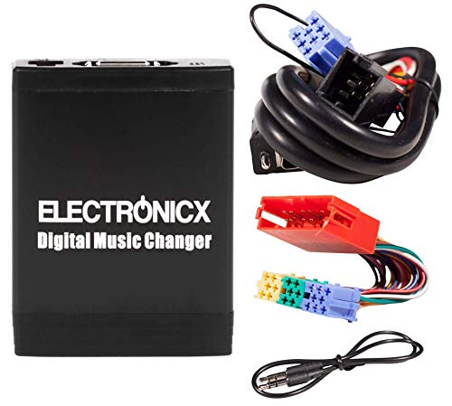 Electronicx Digitaler Auto-Musik-Wechsler DMC USB MP3 AUX SD CD-Adapter Radio Stereosystem Originalradio YTM06-VW8-20PIN