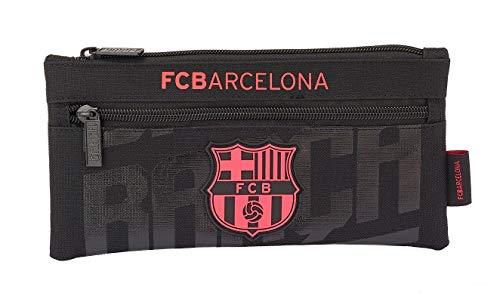 SAFTA - F.C. Barcelona Oficial Estuche Doble Cremallera