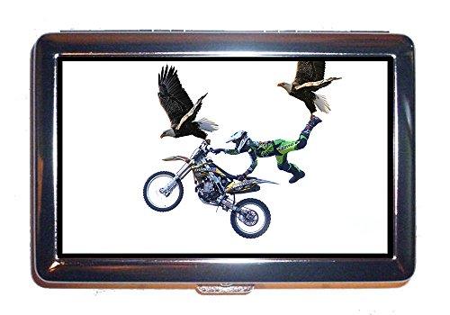 Caso di sigarette Moto Eagle Cross Jump Animals Insolito (scatola di sigarette)