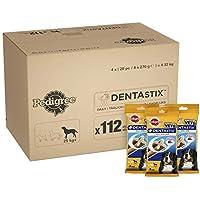 Pedigree Dentastix Friandises pour Grand Chien, Bâtonnet à Mâcher pour l'Hygiène Bucco-Dentaire 112 Sticks