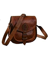 "9"" Leather Cross Body Bags Leather Sling Bag For Women Purse For Znt Bags - B0795SKDLM"