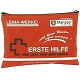 Leina-Werke primera-ayuda-Set 185 x 130 mm portátil en bolsa de nailon azul