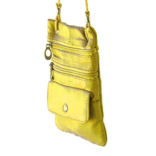 Silver Fever 3200, Borsa a tracolla donna multicolore giallo Giallo