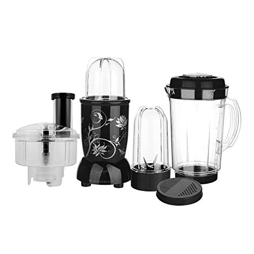 Wonderchef Nutri-Blend Compact Food Processor 400W - Black