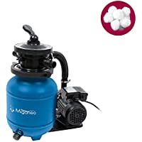 Miganeo Sandfilteranlage Dynamic 6500 blau inkl. Filterballs 403853