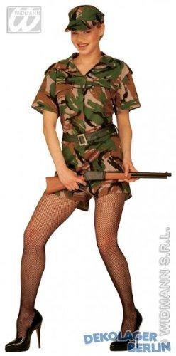 Armee Mädchen - Adult - Gi Jane Kostüm