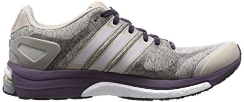 adidas Adistar Boost Heather, Chaussures de sport femme Multicolore - Multicolor (Clear Brown/Ftwr White/Ash Purple)