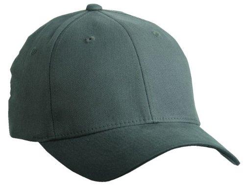 "FLEXFIT Basecap \""Fullcap\"" in 2 Größen + 8 Farben Anthrazit ( Dunkelgrau ),L/XL (Large/Extras-Large), 57/58 cm Kopfumfang Dunkelgrau,L-XL"