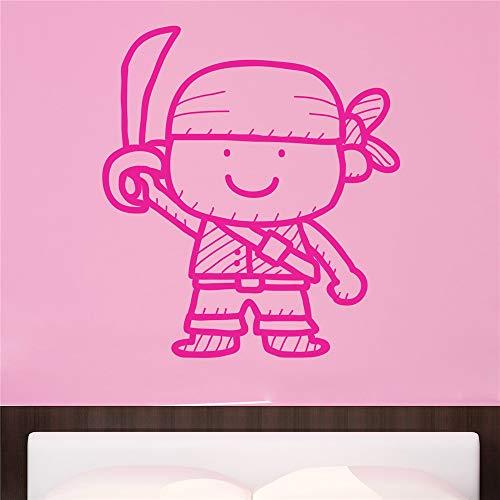 stickers muraux bebe papillon Pirate pour chambre d'enfants