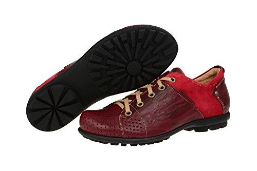 Think!  0-80669-72, Chaussures à lacets et coupe classique homme Rouge