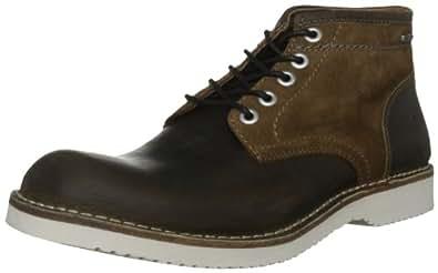 G-Star Men's Garrett Ii Burroughs Lthr Dark Brown/Tan Lace Up Boot GS13850/342 7 UK, 41 EU, 8 US