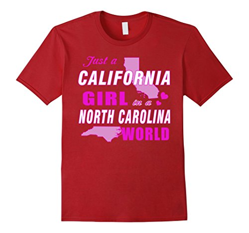 mens-just-a-california-girl-in-a-north-carolina-world-t-shirt-2xl-cranberry
