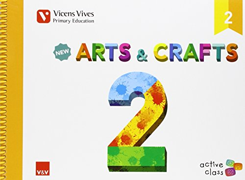 New-Arts-And-Crafts-2-active-Class-9788468229140