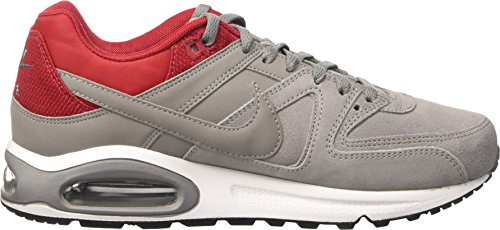 Nike Air Max Command Cuir Scarpe De Ginnastica, Uomo Multicolore (poussière / Poussière-gym Red-tumbled Gray)