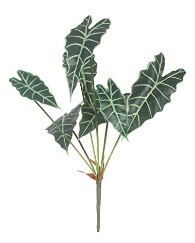 XIUER 7 Zweige 76 cm künstliche Tropische Palmenblätter große künstliche Dekoration Dekoration Zubehör Dschungel Strand Thema für Tischdeko Hochzeit Zuhause Dekoration, 1 Stück Tropical Leaves