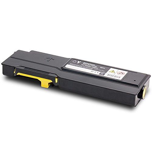 Preisvergleich Produktbild Dell Original Toner gelb 1.200 Seiten (593-BBBO) für C2665DNF & C2660DN