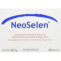 NEOSELEN®90 : Gélules anti-âge - 3 mois de traitement - SELENIUM - VITAMINES A C et E - OMEGA 3 et 6 - PROTECTEUR CUTANE - DEFENSES NATURELLES