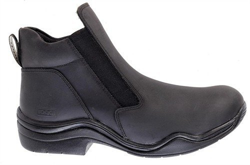 William Hunter Equestrian Toggi Suffolk á l'eau Cuir Boots d'équitation à Enfiler en Noir, Taille : 8 (EU 42)