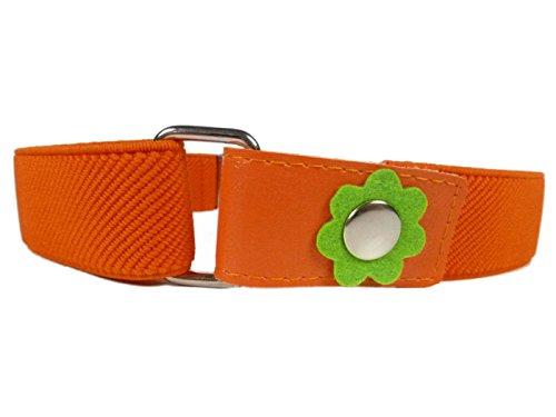 für Mädchen 1-6 Jahre, mit Blume Design - Orange ()