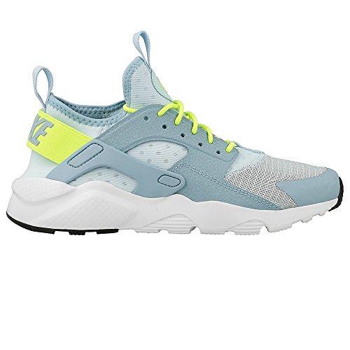 Nike Air Huarache Run Ultra GS Running Trainers 847568 Sneakers Shoes (Uk 5.5 Us 6Y Eu 38.5, Glacier Blue Volt 402)