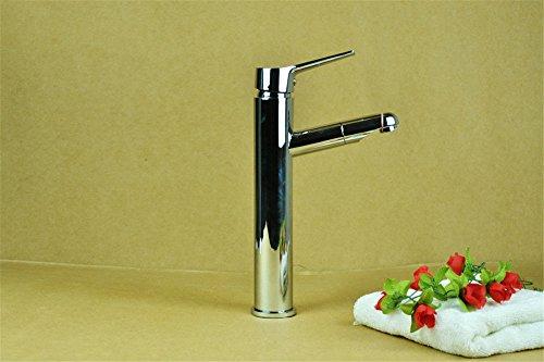 Moderne Zinn Bad (LHbox Bad Armatur in Bad für Waschbecken Waschtisch Wasserhahn Waschtischarmatur Moderne Wasserhahn kalte und warme Badewanne Armatur ziehen Zinn tippen Löten)