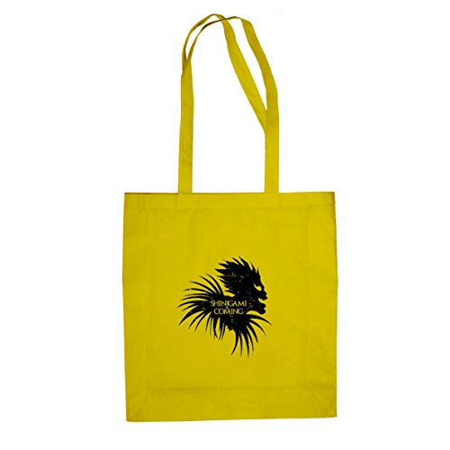 Shinigami is Coming - Stofftasche / Beutel Gelb